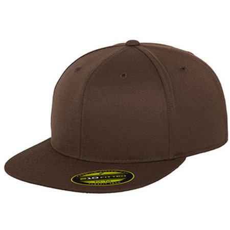 Premium 210 Fitted in Brown von FLEXFIT (Artnum: FX6210