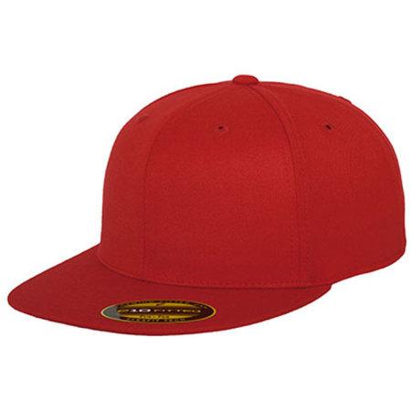 Premium 210 Fitted in Red von FLEXFIT (Artnum: FX6210