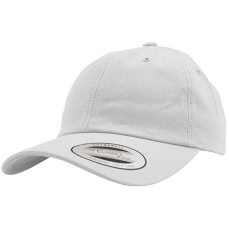 Low Profile Cotton Twill in White von FLEXFIT (Artnum: FX6245CM