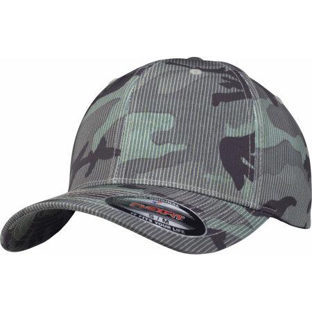 Flexfit Camo Stripe Cap von FLEXFIT (Artnum: FX6277CS