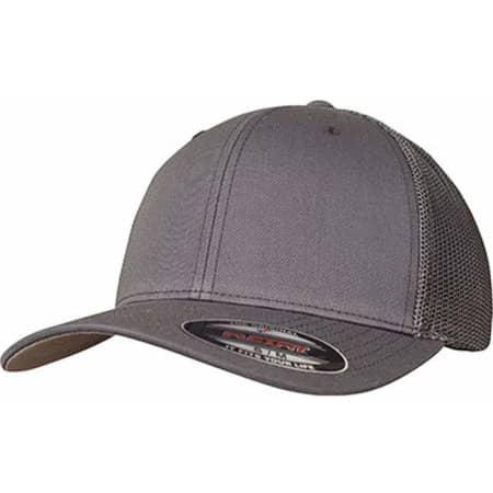 Mesh Trucker Cap in Dark Grey von FLEXFIT (Artnum: FX6511