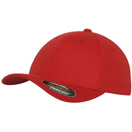 Double Jersey in Red von FLEXFIT (Artnum: FX6778