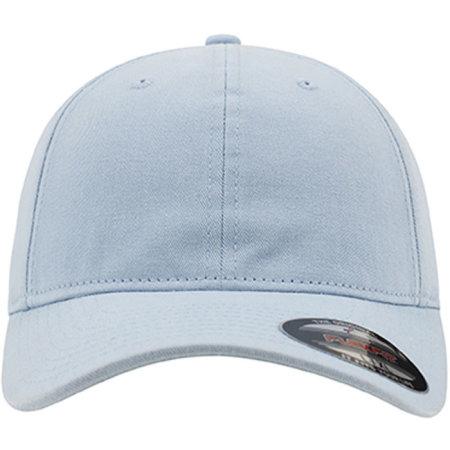 Garment Washed Cotton Dad Hat in Light Blue von FLEXFIT (Artnum: FX6997