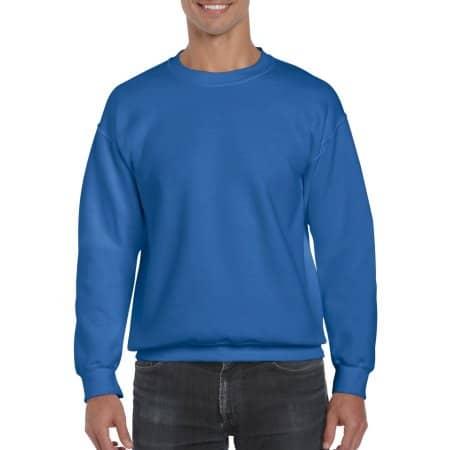 DryBlend® Crewneck Sweatshirt in Royal von Gildan (Artnum: G12000