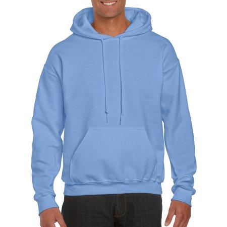 DryBlend® Hooded Sweatshirt in Carolina Blue von Gildan (Artnum: G12500