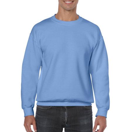 Heavy Blend™ Crewneck Sweatshirt in Carolina Blue von Gildan (Artnum: G18000