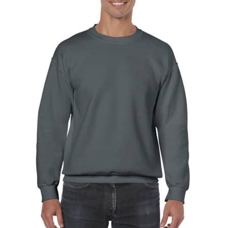 Heavy Blend™ Crewneck Sweatshirt in Charcoal (Solid) von Gildan (Artnum: G18000