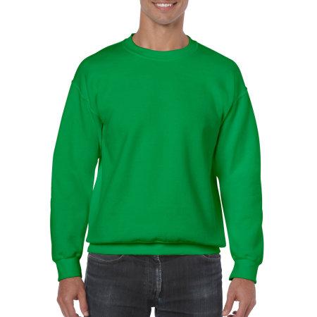 Heavy Blend™ Crewneck Sweatshirt in Irish Green von Gildan (Artnum: G18000