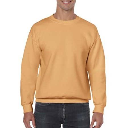 Heavy Blend™ Crewneck Sweatshirt in Old Gold von Gildan (Artnum: G18000