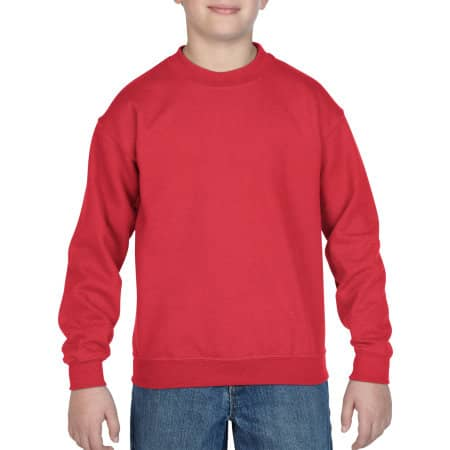 Heavy Blend™ Youth Crewneck Sweatshirt von Gildan (Artnum: G18000K