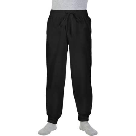 Heavy Blend™ Sweatpants with Cuff in Black von Gildan (Artnum: G18120