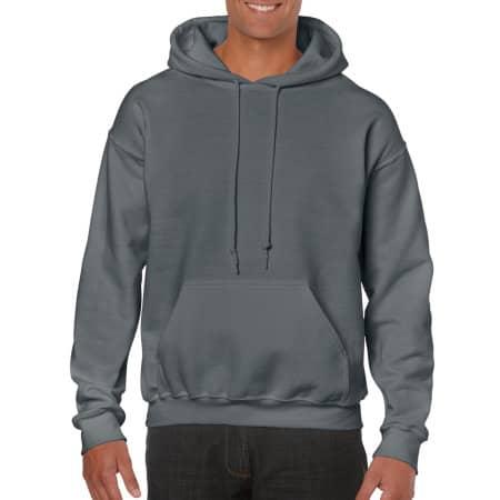 Heavy Blend™ Hooded Sweatshirt in Charcoal (Solid) von Gildan (Artnum: G18500