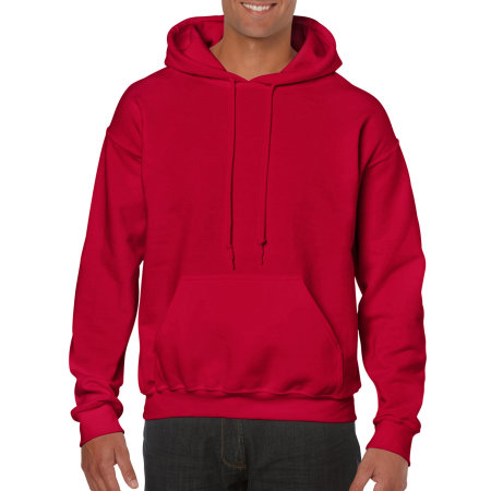 Heavy Blend™ Hooded Sweatshirt in Cherry Red von Gildan (Artnum: G18500