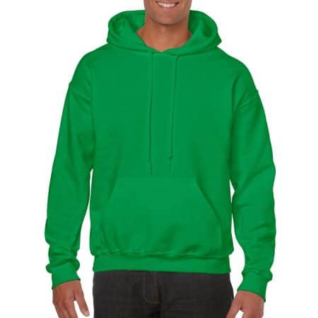 Heavy Blend™ Hooded Sweatshirt in Irish Green von Gildan (Artnum: G18500