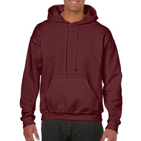 Heavy Blend™ Hooded Sweatshirt in Maroon von Gildan (Artnum: G18500