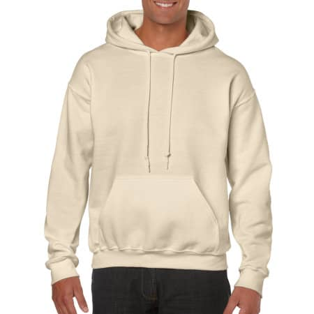 Heavy Blend™ Hooded Sweatshirt in Sand von Gildan (Artnum: G18500