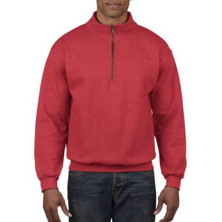 Heavy Blend™ Vintage 1/4 Zip Sweatshirt von Gildan (Artnum: G18800