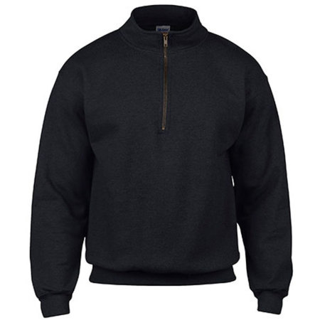 Heavy Blend™ Vintage 1/4 Zip Sweatshirt in Black von Gildan (Artnum: G18800