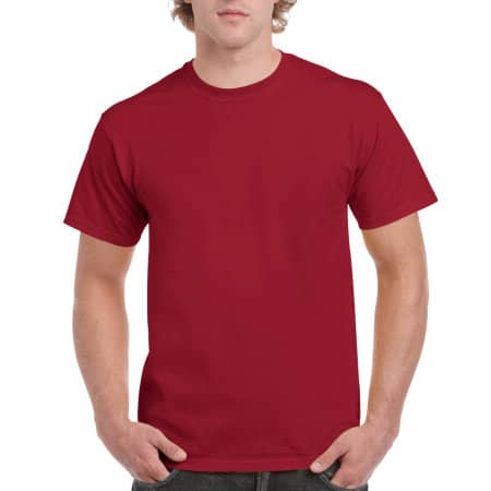 Ultra Cotton™ T-Shirt in Cardinal Red von Gildan (Artnum: G2000