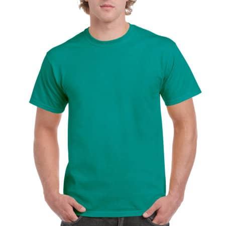 Ultra Cotton™ T-Shirt in Jade Dome von Gildan (Artnum: G2000