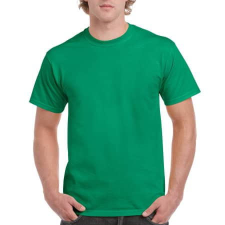 Ultra Cotton™ T-Shirt in Kelly Green von Gildan (Artnum: G2000