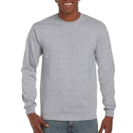 Ultra Cotton™ Long Sleeve T- Shirt von Gildan (Artnum: G2400