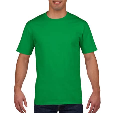 Premium Cotton® T-Shirt in Irish Green von Gildan (Artnum: G4100