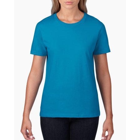 Premium Cotton® Ladies` T-Shirt von Gildan (Artnum: G4100L