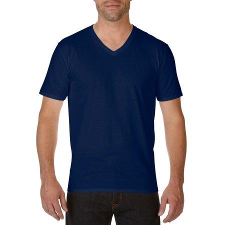 Premium Cotton® V-Neck T-Shirt von Gildan (Artnum: G41V00