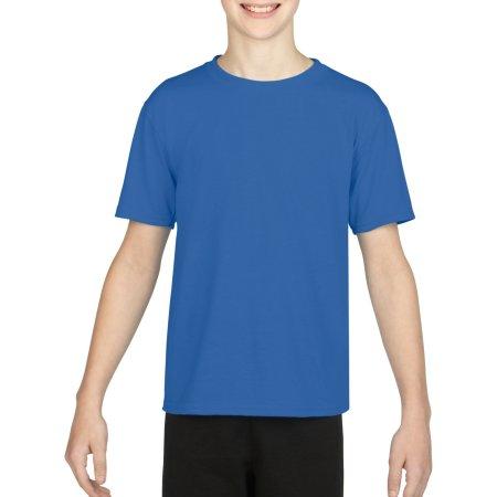 Performance® Youth T-Shirt in Royal von Gildan (Artnum: G42000K
