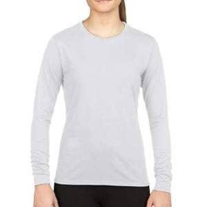 Performance® Ladies` Long Sleeve T-Shirt