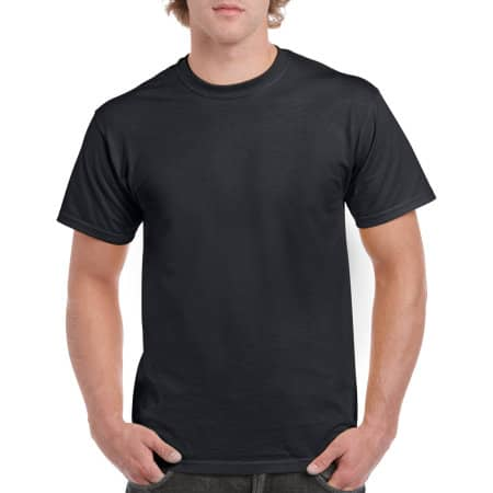 Heavy Cotton™ T- Shirt in Black von Gildan (Artnum: G5000