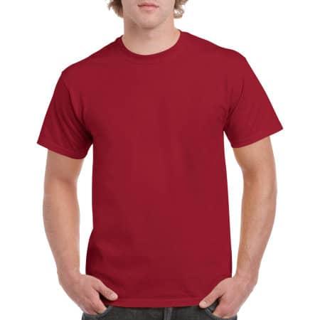 Heavy Cotton™ T- Shirt in Cardinal Red von Gildan (Artnum: G5000