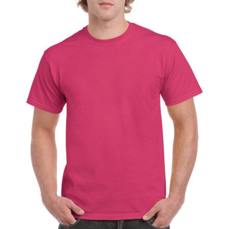 Heavy Cotton™ T- Shirt in Heliconia von Gildan (Artnum: G5000