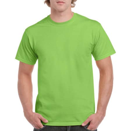Heavy Cotton™ T- Shirt in Lime von Gildan (Artnum: G5000
