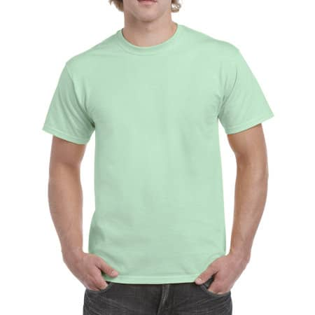Heavy Cotton™ T- Shirt in Mint Green von Gildan (Artnum: G5000