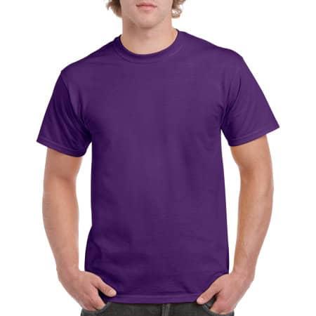 Heavy Cotton™ T- Shirt in Purple von Gildan (Artnum: G5000