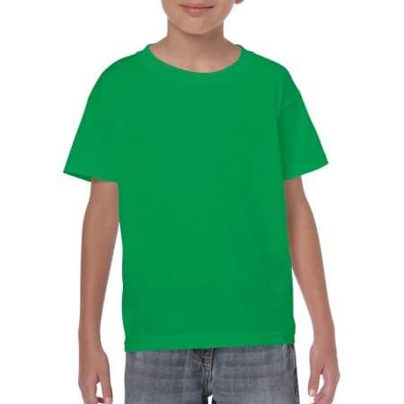 Heavy Cotton™ Youth T- Shirt in Irish Green von Gildan (Artnum: G5000K