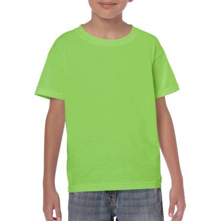 Heavy Cotton™ Youth T- Shirt in Lime von Gildan (Artnum: G5000K