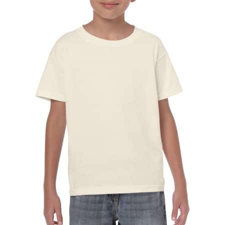 Heavy Cotton™ Youth T- Shirt in Natural von Gildan (Artnum: G5000K