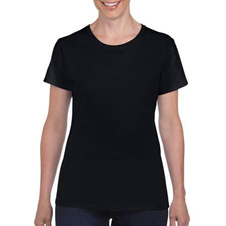 Heavy Cotton™ Ladies` T-Shirt in Black von Gildan (Artnum: G5000L