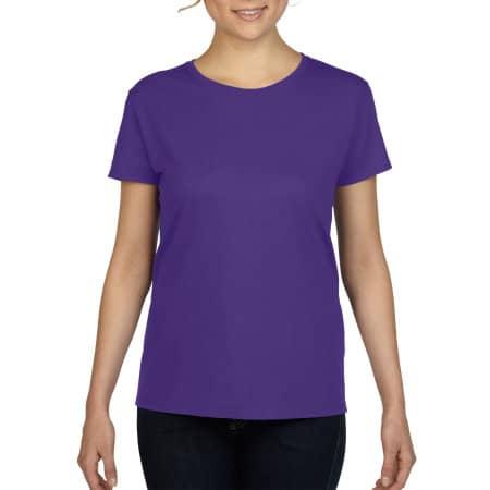 Heavy Cotton™ Ladies` T-Shirt in Lilac (Heather) von Gildan (Artnum: G5000L