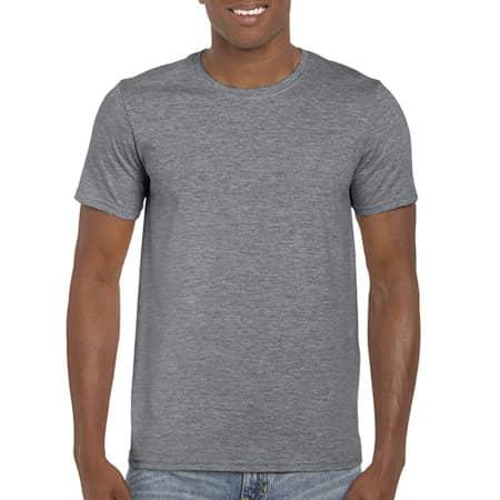 Softstyle® T- Shirt in Graphite Heather von Gildan (Artnum: G64000