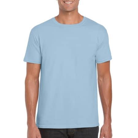 Softstyle® T- Shirt in Light Blue von Gildan (Artnum: G64000