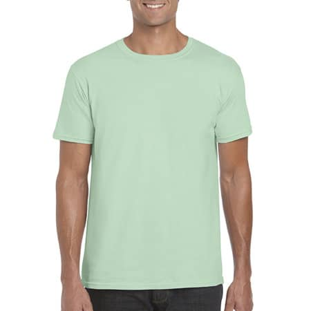 Softstyle® T- Shirt in Mint Green von Gildan (Artnum: G64000