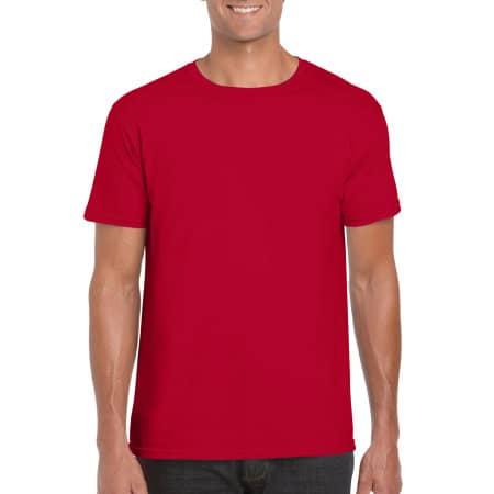 Softstyle® T- Shirt in Red von Gildan (Artnum: G64000