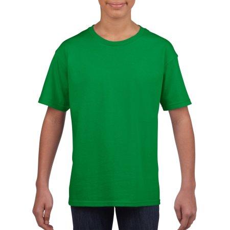 Softstyle® Youth T-Shirt in Irish Green von Gildan (Artnum: G64000K