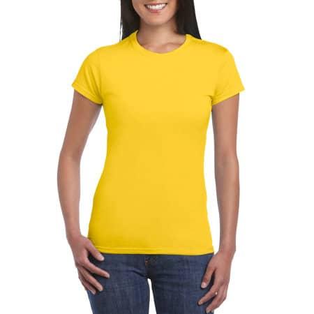 Softstyle® Ladies` T- Shirt in Daisy von Gildan (Artnum: G64000L