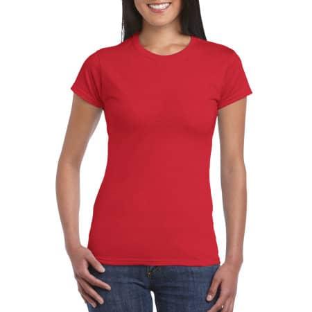 Softstyle® Ladies` T- Shirt in Red von Gildan (Artnum: G64000L