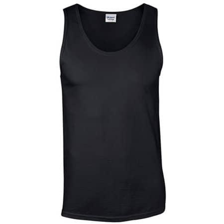 Softstyle® Tank Top in Black von Gildan (Artnum: G64200